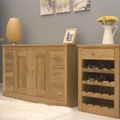 Mobel oak Dining / Living Room Furniture