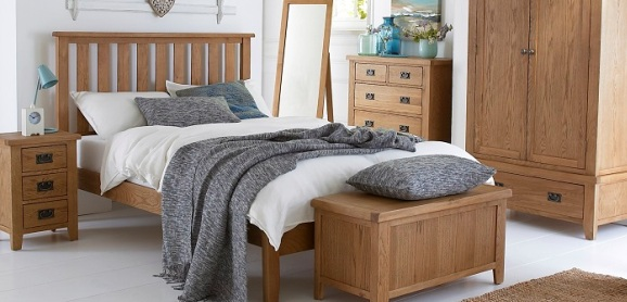 Compton Oak Bedroom Furniture