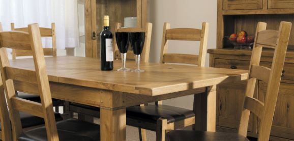 Verona Oak Dining Living