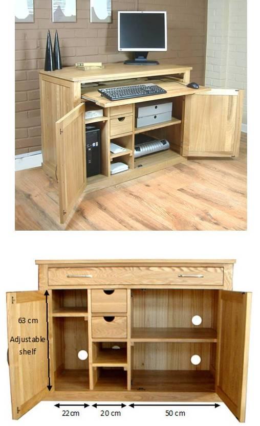 Pleasing Oak Home Office Furniture Desk Home Interior And Landscaping Transignezvosmurscom