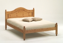 "Richmond Pine Carlton 4`6"" Double bed"