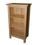 Essentials oak mini bookcase