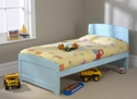 Childrens Rainbow Bed Blue
