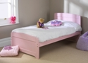 Childrens Rainbow Bed Pink