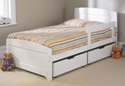 Childrens Rainbow Bed White