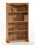 Richmond Pine 3 shelf bookcase