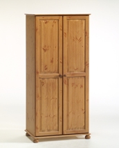 Richmond Pine double wardrobe