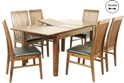 Kinross Dining Table with 6 chairs