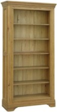 Loire Oak Large Bookcase