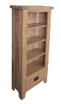 Barcelona Rustic Oak CD Cabinet