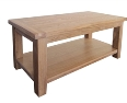 Barcelona Rustic Oak Coffee Table