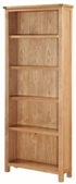Valewood City Oak Tall Bookcase