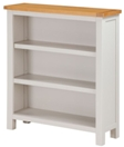 Valewood City Painted Low Bookcase