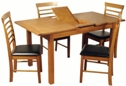 Valewood Country Oak Extending Dining Set