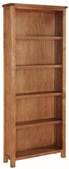 Valewood Country Oak Tall Bookcase